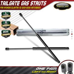 2x Rear Tailgate Hatch Boot Gas Struts for Hyundai Elantra Hatchback 2001-2006