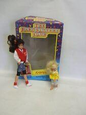 Baby-Sitters Club Dolls Kristy & Karen Mib c 1991 #9331 Ages 5 & up