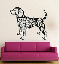 Wall Stickers Vinyl Decal Dog Animal Tracery Cool Decor Room (ig292)