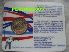 SLOVACCHIA 2009 COINCARD UFFICIALE - DEMOCRAZIA - SLOVAKIA