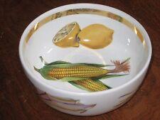 "Royal Worcester EVESHAM GOLD Individual Cereal Bowl 5¼"" Corn Center Gold Band"