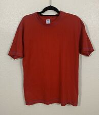 Mens Urban Outfitters Essential Basic Short Sleeve T Shirt Size Medium Red