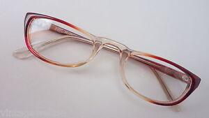 Robuste Kunststoff Lesebrille ohne Gläser 49-24 oldschool braun-verlaufend sizeM