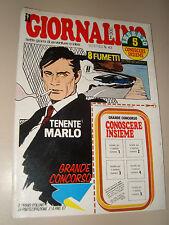 IL GIORNALINO=1978/43=TENENTE MARLO=RICHARD DREYFUSS=EVARISTO BECCALOSSI=