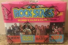 1979 Donruss, Unopened, Rock Stars, 36-Pack Box. BBCE Authenticated