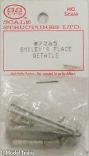 SS Ltd. HO #7265 Smiley's Place Details  (Cast Metal)
