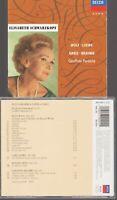 Elisabeth Schwarzkopf Wolf Loewe Grieg Brahms Cd Geoffrey Parsons Decca