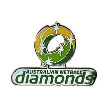 Australian Netball Diamonds Logo Pin