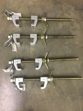 4 Used Reliance 14500 Lb Skyline Beam Clamp 3093 Anchor