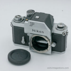 Nikon F Silber + FTN Photomic Eye-Level Viewfinder 35mm Film Analog Kamera