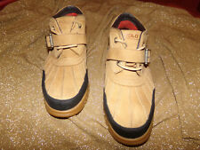 EUC Men's Ralph Lauren Polo Duck Boots Size 10.5 Brown with Black ,,Must See!!