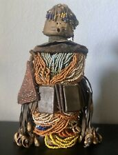 """Authentic Vintage African Namji Fali Tribe Fertility Doll 11"""""""