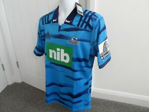 Auckland Blues Rugby Shirt 2019 Super Rugby Large Adidas Brand New