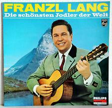 """12"""" Vinyl - FRANZL LANG - Die schönsten Jodler der Welt"""