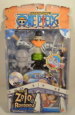 "2005 Roronoa Zoro 7"" Mattel Action Figure Shonen Jump One Piece Pirates Pi-Ripz"