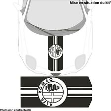 Alfa Romeo - Capot - kit adhésif décoration autocollant - N°5 couleur au choix