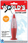 Worlds Smallest Glitter Lamp By Westminster (Random Colors Vary) For Sale