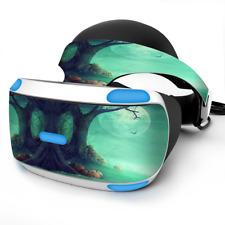 Skin Wrap for Sony Playstation PSVR Headset Halloween Tree Moon