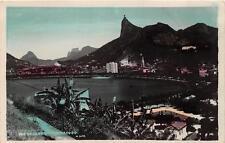 RPPC RIO DE JANEIRO BRAZIL BOTAFOGO REAL PHOTO POSTCARD **
