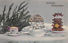 BG14734  festive table fir branch  weihnachten christmas  germany