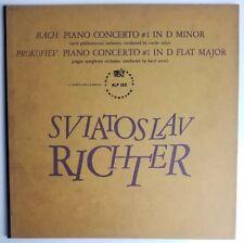 Sviatoslav Richter Bach Prokofiev Piano Concerto No. 1 LP Supraphon  ALP-123