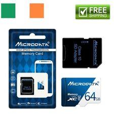 64 GB Class 10 PREMIUM Micro SD Card + Adapter TF SDHC Flash Storage Memory