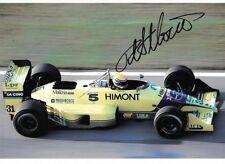 Roberto Moreno SIGNED, F1 Coloni FC188B ,  1989 Grand Prix Season