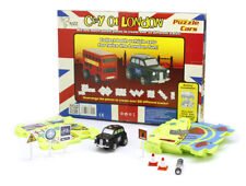 City of London  Puzzle Cars - London Taxi, Kids Plastic Puzzle and Car