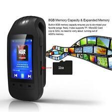 NEW 1.8'' LCD Screen 8GB MP3 MP4 Music Player Pedometer FM Radio TF Card W5B1