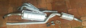 Fiat 124 coupe CC 1800 Complete exhaust system NEW IMASAF standard