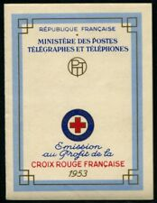 France 1953 Carnet Croix-Rouge N°2002 NEUF ** LUXE