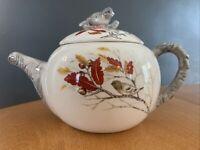 Global Design Connections Kate Williams Tea Pot Wren Bird beautiful Fall Color.