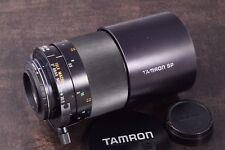 SUPERB NIKON FIT TAMRON 500mm F8 MIRROR LENS WITH CAPS & TRIPOD CLAMP ADAPTALL 2