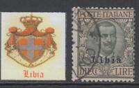 Italy Libia - Sassone n. 12  cv 360$ used