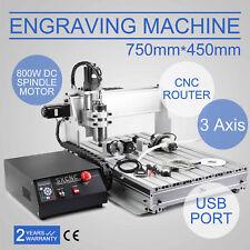 VEVOR CNC ROUTER ENGRAVER MACHINE ENGRAVING DRILLING 3 AXIS 6040 DESKTOP USB HOT