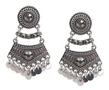Jonte New Season Fashion Jewellery New Earrings Silver Oriental Studs by Ella