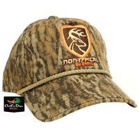 NEW DRAKE WATERFOWL NON TYPICAL FIVE PANEL BALL CAP HAT BOTTOMLAND CAMO