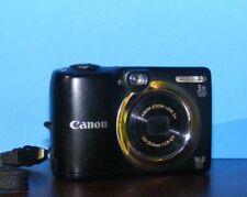 Canon PowerShot A1400 16.0 MP Compact Digital Camera - Black