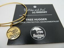 Alex and Ani Gold Tree Hugger Charm Bracelet New With Tags 2013