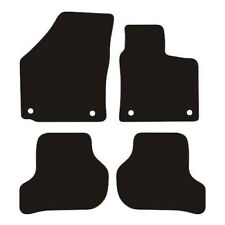 Vw Scirocco (2008 to DATE) Fully Tailored Black Rubber Car Floor Mats Set of 4