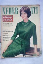 More details for vintage 1962 neuer schnitt new cut german sewing knitting pattern magazine