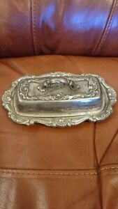 Yeoman Silver Plated Butter Dish
