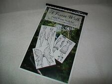 """A Forest Walk"" by Missy ~ Printed Fairy Paper Dolls Ready To Color"