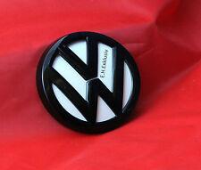 VW GOLF 7 LOGO EMBLEMA POSTERIORE SPORTELLI APRIBOTTIGLIE BLACK NERO LUCIDA CANDY Weis lb9a