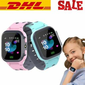 Bluetooth Smartwatch Armbanduhr Kinder Handy mit Kamera SIM Slot Fitness Tracker