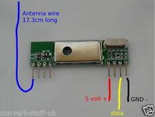 433MHZ schermato a bassa rumorosità ricevitore wireless board per Raspberry PI / Arduino.