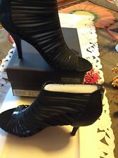 Kenneth Cole Reaction Strappy-Sexy Heels Sz 9.5 Black Know Entry NWB!Retail $125