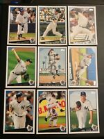 2009 Topps NEW YORK YANKEES Complete Team Set Series 1 & 2 WS CHAMPS ! 29 Cards