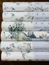 Laura Ashley Belvedere Midnight Wallpaper Price Per Roll Peacocks