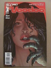 Voodoo #1 NEW 52 DC Comics 2011 Series 9.6 Near Mint+